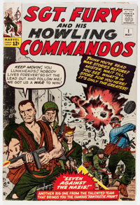 Sgt. Fury and His Howling Commandos #1 (Marvel, 1963) Condition: VG