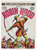 Golden Age (1938-1955):Classics Illustrated, Classic Comics #7 Robin Hood - First Edition (Gilberton, 1942)Condition: VG+....