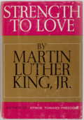 Books:Americana & American History, Martin Luther King, Jr. Strength to Love. Harper & Row,Publishers, 1963. First edition. Publisher's original bi...