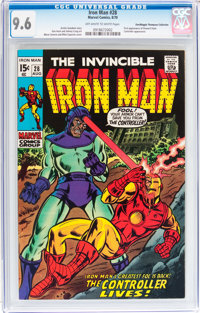 Iron Man #28 Don/Maggie Thompson Collection pedigree (Marvel, 1970) CGC NM+ 9.6 Off-white to white pages