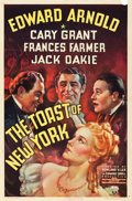"Movie Posters:Drama, The Toast of New York (RKO, 1937). One Sheet (27"" X 41"").. ..."