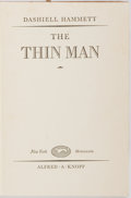 Books:Mystery & Detective Fiction, Dashiell Hammett. The Thin Man. Alfred A. Knopf, 1934. Stated first edition. Publisher's original cloth binding....