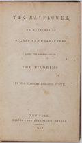 Books:Literature Pre-1900, Harriet Beecher Stowe. The Mayflower; or, Sketches of Scenes and Characters Among the Descendants of the Pilgrims....