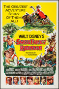 """Movie Posters:Adventure, Swiss Family Robinson (Buena Vista, 1960). One Sheet (27"""" X 41"""")Style A. Adventure.. ..."""