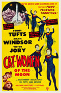 "Movie Posters:Science Fiction, Cat-Women of the Moon (Astor Pictures, 1954). One Sheet (27"" X41"").. ..."