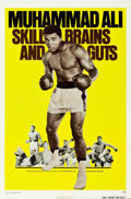 "Movie Posters:Sports, Legends of the Ring: Muhammad Ali - Skill, Brains and Guts (Bryanston, 1975). One Sheet (27"" X 41"").. ..."