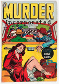 Golden Age (1938-1955):Crime, Murder Incorporated #3 (second series) (Fox Features Syndicate, 1950) Condition: FN-....