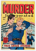Golden Age (1938-1955):Romance, Murder Incorporated #5 (second series) (Fox Features Syndicate,1950) Condition: VF-....