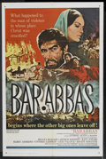 "Movie Posters:Adventure, Barabbas (Columbia, 1962). One Sheet (27"" X 41""). Adventure. ..."