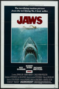 """Movie Posters:Horror, Jaws (Universal, 1975). One Sheet (27"""" X 41""""). Horror. ..."""