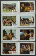 """Movie Posters:Western, The War Wagon (Universal, 1967). Lobby Card Set of 8 (11"""" X 14""""). Western. ... (Total: 8 Item)"""