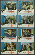 "Movie Posters:War, The Longest Day (20th Century Fox, 1962). Lobby Card Set of 8 (11""X 14""). War. ... (Total: 8 Items)"