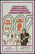 """Movie Posters:James Bond, Dr. No/From Russia with Love Combo (United Artists, R-1965). One Sheet (27"""" X 41""""). James Bond. ..."""