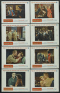 "Movie Posters:War, Battle Cry (Warner Brothers, 1955). Lobby Card Set of 8 (11"" X14""). War. ... (Total: 8 Items)"