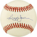 "Autographs:Baseballs, Reggie Jackson Single Signed Baseball. Elected to the Hall of Famein 1993, Reggie Jackson earned the nickname ""Mr. October..."