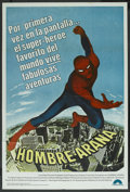 "Movie Posters:Action, Spider-Man (Columbia, 1977). Argentinean Poster (29"" X 43"").Action. ..."