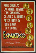 "Movie Posters:Adventure, Spartacus (Universal International, 1960). Argentinean Poster (29""X 43""). Adventure. ..."