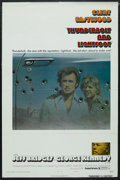 """Movie Posters:Crime, Thunderbolt and Lightfoot (United Artists, 1974). One Sheet (27"""" X41"""") Style B. Crime. ..."""