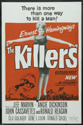 """Movie Posters:Crime, The Killers (Universal, 1964). One Sheet (27"""" X 41""""). Crime. ..."""