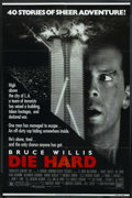 "Movie Posters:Action, Die Hard (20th Century Fox, 1988). One Sheet (27"" X 41""). Action...."