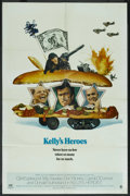 "Movie Posters:War, Kelly's Heroes (MGM, 1970). One Sheet (27"" X 41"") Style B. War. ..."