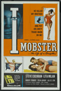 "Movie Posters:Crime, I Mobster (20th Century Fox, 1958). One Sheet (27"" X 41"").Crime...."