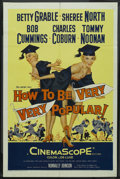 """Movie Posters:Comedy, How to Be Very, Very Popular (20th Century Fox, 1955). One Sheet (27"""" X 41""""). Comedy...."""