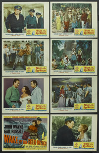 """Wake of the Red Witch (Republic, 1949). Lobby Card Set of 8 (11"""" X 14""""). Adventure. ... (Total: 8 Items)"""