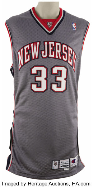 quality design 55a54 1ab6a 1999-2000 Stephon Marbury Game Worn Jersey. The star New ...