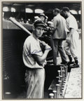 "Autographs:Photos, Ted Williams Signed Oversized Photograph. Vivid portrayal of ayoung Splendid Splinter comes to us here in glorious 16x20"" ..."