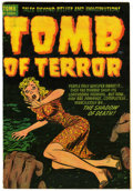 Golden Age (1938-1955):Horror, Tomb of Terror #7 (Harvey, 1953) Condition: FN/VF....