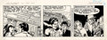 Original Comic Art:Comic Strip Art, Larry Lieber - The Amazing Spider-Man Daily Comic Strip Original Art, dated 3-31-97 (King Features Syndicate, 1997). ...