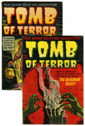 Golden Age (1938-1955):Horror, Tomb of Terror #2 and 4 Group (Harvey, 1952) Condition: AverageVG+.... (Total: 2 Comic Books)