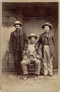 Photography:Cabinet Photos, JOHN SLAUGHTER'S TOMBSTONE, ARIZONA TERRITORY COWBOYS - C.S. FLY - CABINET CARD - circa 1879-80.. This is a great early Ariz... (Total: 1 Item)