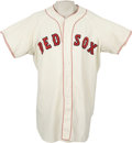 Baseball Collectibles:Uniforms, Circa 1960 Boston Red Sox Game Worn Jersey, Number 26. Removed yearand size tags keep us from making a definitive statement...