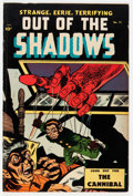Golden Age (1938-1955):Horror, Out Of The Shadows #13 (Standard, 1954) Condition: VG/FN....