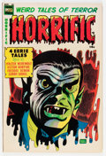 Golden Age (1938-1955):Horror, Horrific #13 (Comic Media, 1954) Condition: VG/FN....