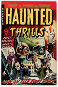 Golden Age (1938-1955):Horror, Haunted Thrills #5 (Farrell, 1953) Condition: VG/FN....
