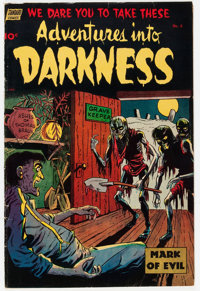 Adventures Into Darkness #8 (Standard, 1953) Condition: VG/FN