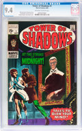 Silver Age (1956-1969):Horror, Tower of Shadows #1 (Marvel, 1969) CGC NM 9.4 Off-white to whitepages....