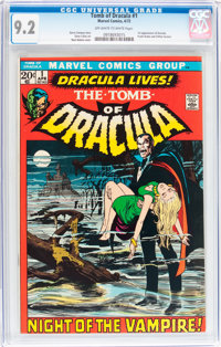 Tomb of Dracula #1 (Marvel, 1972) CGC NM- 9.2 Off-white to white pages