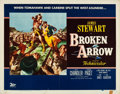 "Movie Posters:Western, Broken Arrow (20th Century Fox, 1950). Half Sheet (22"" X 28""). Western.. ..."