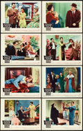 """Movie Posters:Comedy, Auntie Mame (Warner Brothers, 1958). Lobby Card Set of 8 (11"""" X14"""").. ... (Total: 8 Item)"""