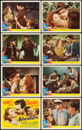 "Movie Posters:Romance, Adventure (MGM, 1945). Lobby Card Set of 8 (11"" X 14"").. ...(Total: 8 Items)"