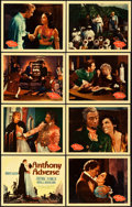 "Movie Posters:Adventure, Anthony Adverse (Warner Brothers, 1936). Lobby Card Set of 8 (11"" X14"").. ... (Total: 8 Items)"
