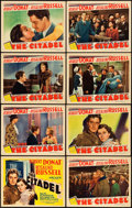 """Movie Posters:Drama, The Citadel (MGM, 1938). Lobby Card Set of 8 (11"""" X 14"""").. ...(Total: 8 Items)"""