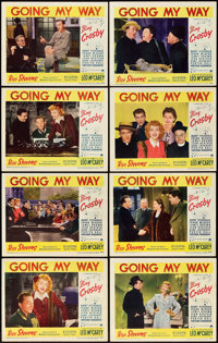 """Going My Way (Paramount, 1944). Lobby Card Set of 8 (11"""" X 14""""). ... (Total: 8 Items)"""