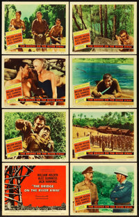 "The Bridge on the River Kwai (Columbia, 1958). Lobby Card Set of 8 (11"" X 14""). ... (Total: 8 Items)"