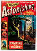 Golden Age (1938-1955):Horror, Astonishing #18 (Atlas, 1952) Condition: FN....