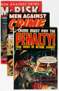 Golden Age (1938-1955):Crime, Golden Age Ace Crime Group (Ace, 1949-55) Condition: Average VG/FN.... (Total: 22 Comic Books)